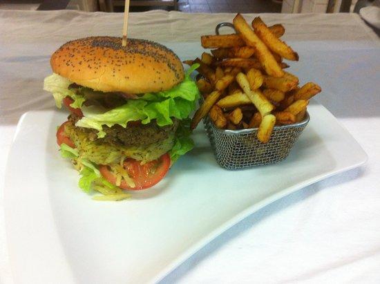Aux Delices des Papilles: Burger Vegetarien Ramsgate