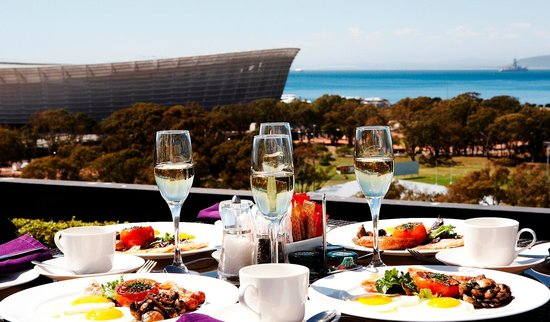 The Cape Royale: Breakfast with Cape Town Stadium view