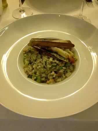Vino & Cucina : Risotto aux couteaux, courgettes ...