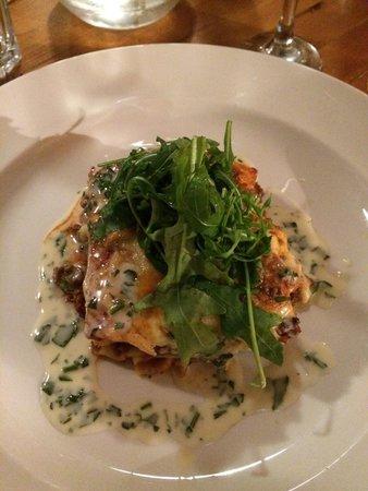 Y Sgwar: Homemade lasagna - delicious!