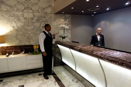 Dumont NYC–an Affinia hotel: Reception (Juber & Jean-Paul)