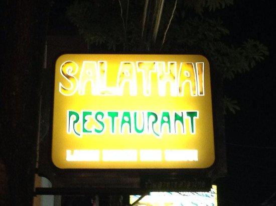 Salathai Restaurant: insegna