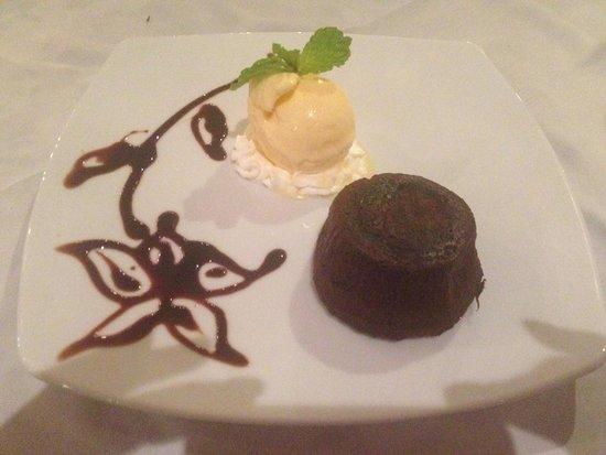 Salathai Restaurant: tortino al cioccolato