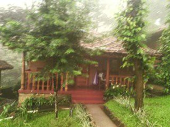 Thekkady - Woods n Spice, A Sterling Holidays Resort : COTTAGE SIT OUT