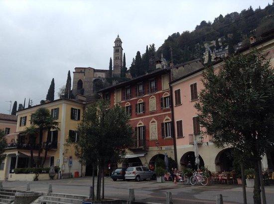 Ristorante Battello: Exterior area of restaurant