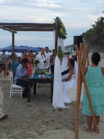 Hochzeitsfeier Am Strand Picture Of El Pacifico Margarita Island