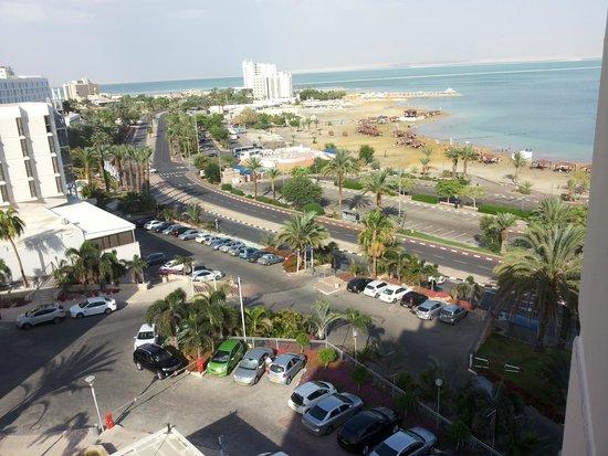 Hotel Spa Club Dead Sea : Вид из номера .