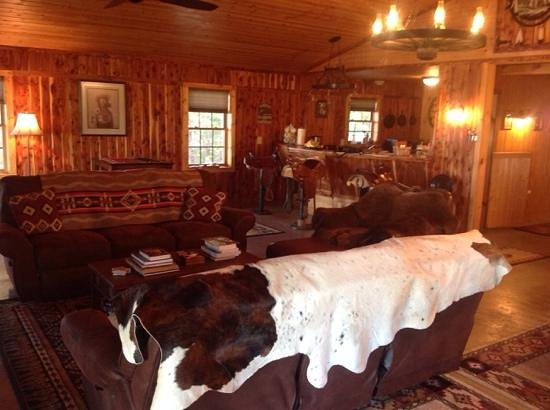 North Mountain Outfitter: inside the Bunkhouse