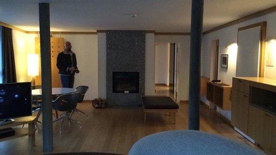 The Omnia: Turmsuite OMNIA III - Lounge