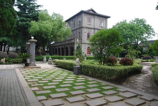 Grounds of the Tongli Sex Museum, Wujiang China