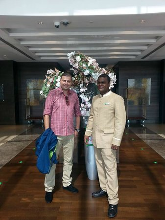 Holiday Inn Abu Dhabi: farewell was great