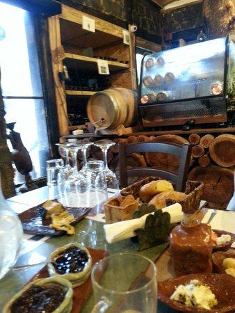 Bellofri Farm - Ein Nashut Winery: Belle Ofri restaurant