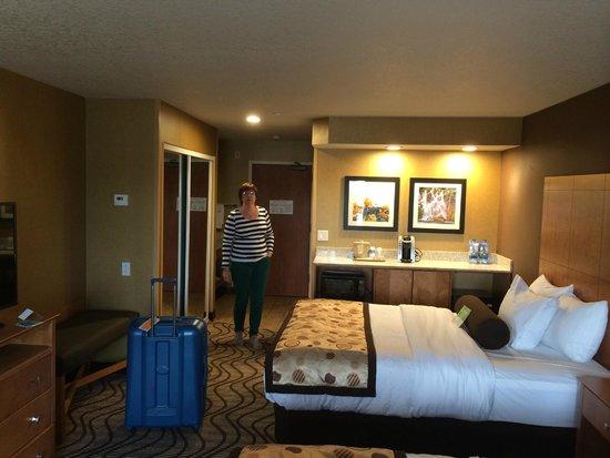 La Quinta Inn & Suites Coeur d' Alene: notre chambre #221