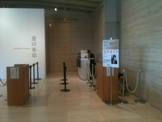 The National Museum of Modern Art: 展示会入口