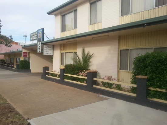 Town Centre Motel : easy to find