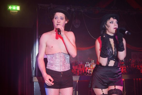 Proud Cabaret Camden: Jo Morose and Coco Dubois in Cabaret mode