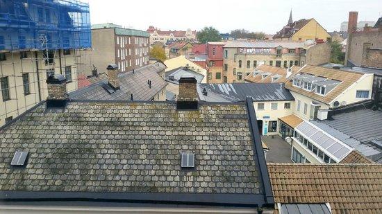 Grand Hotel Lund : Utsikten från rummet på 3e våningen