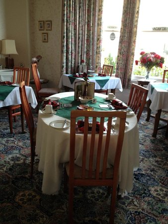Ardconnel House B&B: dining roon