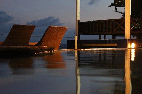 Kebun Impian: la piscine de nuit