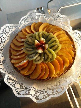 Ristorante La Fattoria: torta di frutta home made