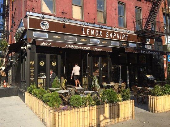 Photo of French Restaurant Lenox Saphire at 341 Malcolm X Blvd, New York City, NY 10027, United States
