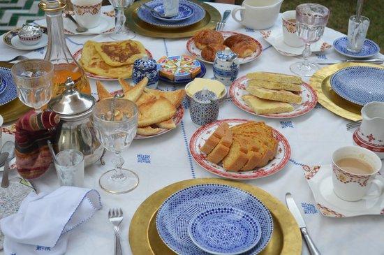Riad Laurence Olivier: Breakfast!
