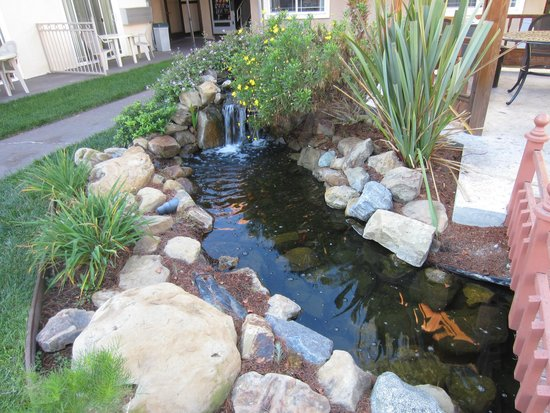 Quality Inn & Suites Thousand Oaks: Waterfall and stream