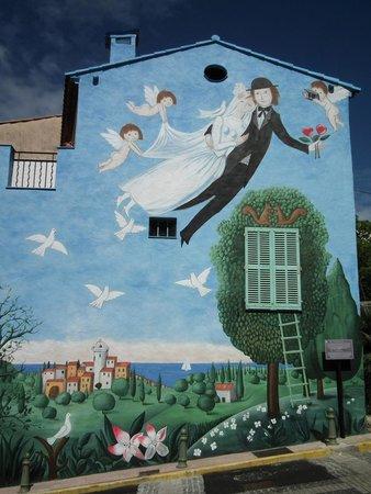 Le Cannet, France: Mur des Amoureux de Peynet