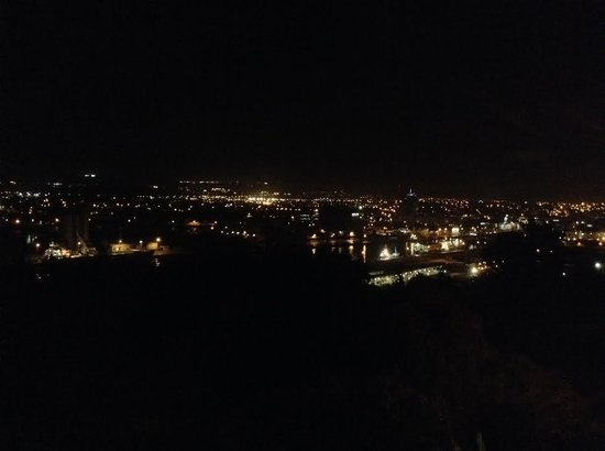 The Montenotte Hotel : Cork at Night, viewed from our room