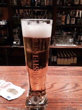 St. Petersbourg Hotel: Lovely beer!
