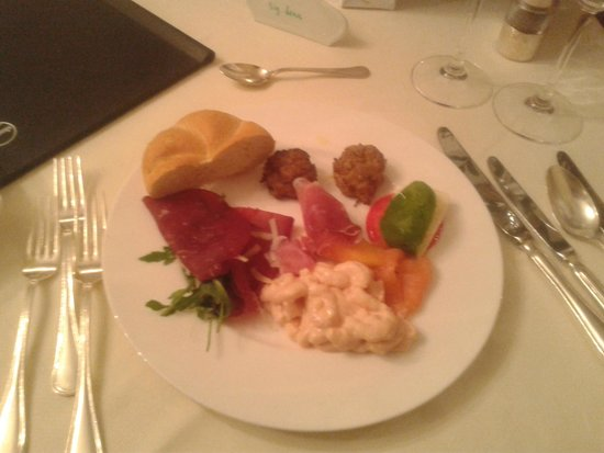 Hotel Pollinger : antipasto a buffet