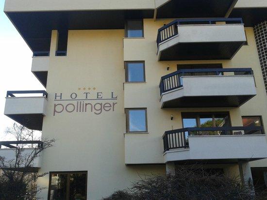 Hotel Pollinger: facciata principale