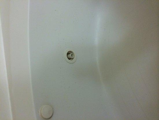 Hilton Garden Inn Richmond Innsbrook : Dirty tub