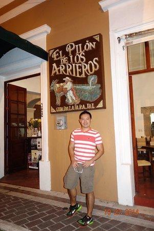 El Pilon de los Arrieros: Entrance