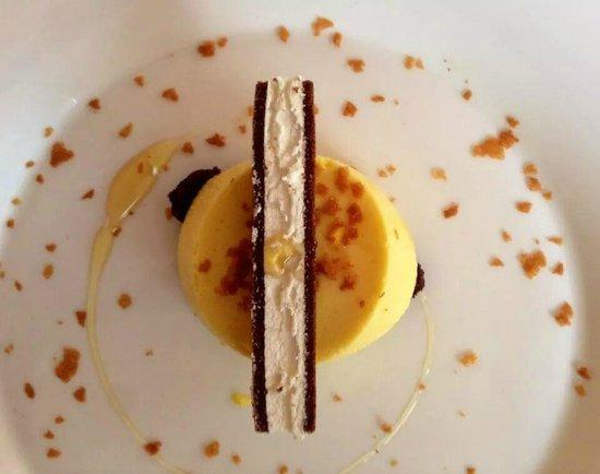 Hotel Europa: Delizioso dessert preparato da Chef Luigi