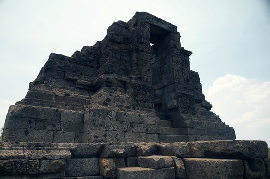 Candi Jago : The topmost level