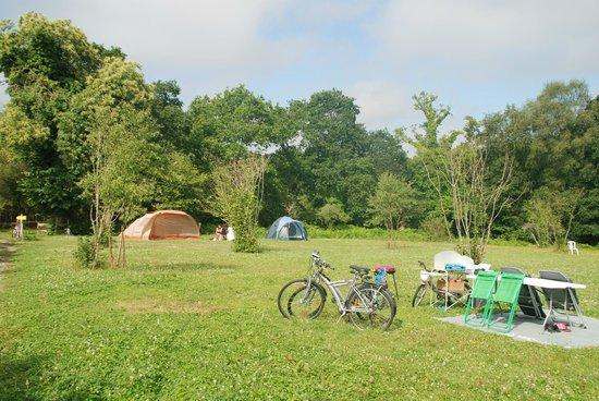 Camping Du Bois Du Cé > le terrain de camping Picture of Le Bois du Barde, Mellionnec TripAdvisor