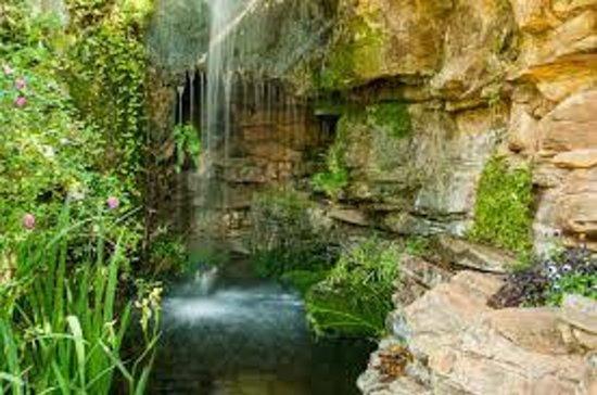 Waterfall Area - Picture of Chandor Gardens, Weatherford - TripAdvisor