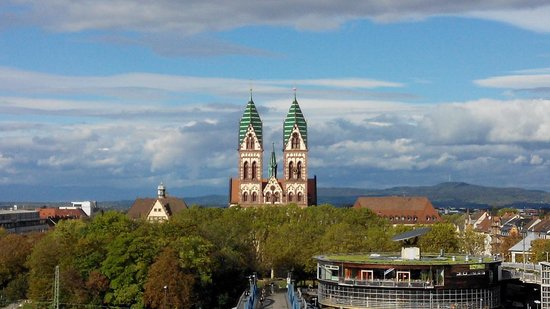 Novotel Freiburg: A picture taken from window view on 7/F