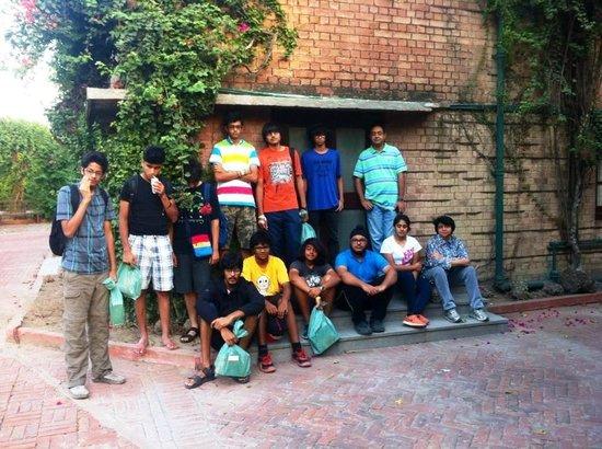 Mrs. Bhandari's Guesthouse : entrance