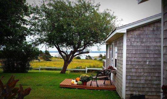 Beach House Inn: view off our front deck