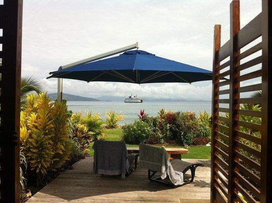 Aroha Taveuni: Room vith the view