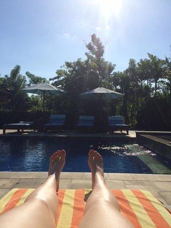 Alam Shanti: Relaxing Pool Area