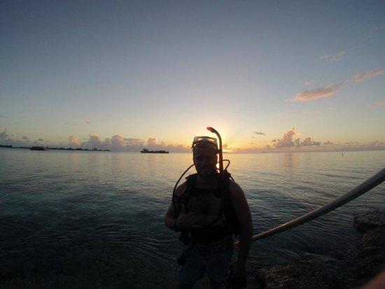 Kwajalein Island, Wyspy Marshalla: Kway night diving
