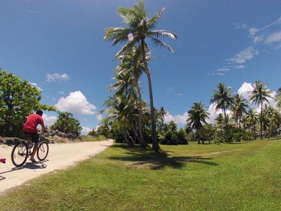 Kwajalein Island, Wyspy Marshalla: Island paths