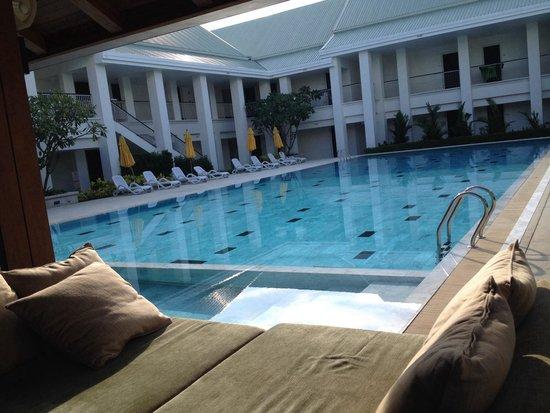 Thanyapura Health & Sports Resort: บรรยากาศหน้าห้องพัก