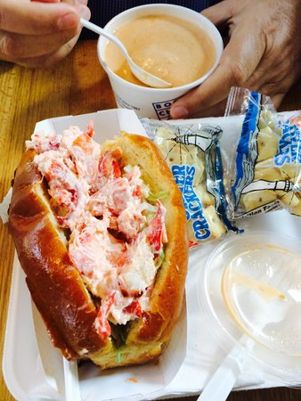 Boston Chowda Co: Lobster Roll and Lobster Bisque