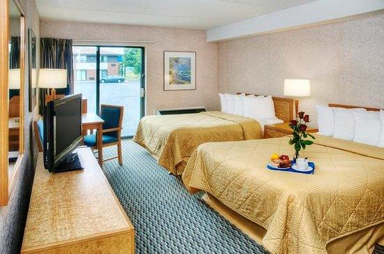 Comfort Inn Bridgewater: Flat Screen TVs in all rooms