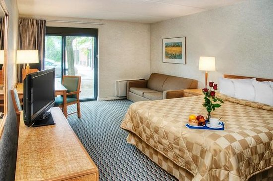 Comfort Inn Bridgewater : Drive up rooms available