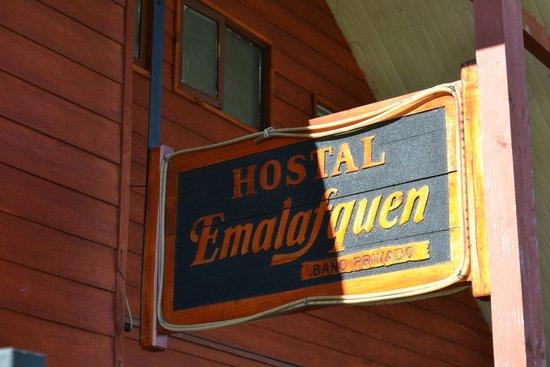 Hostal Emalafquen: Fachada do Hostel